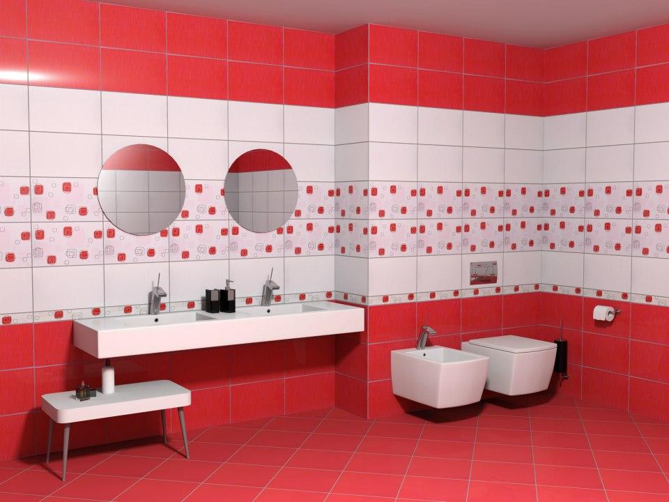 Червена баня – смесица от агресивен и енергичен дизайн