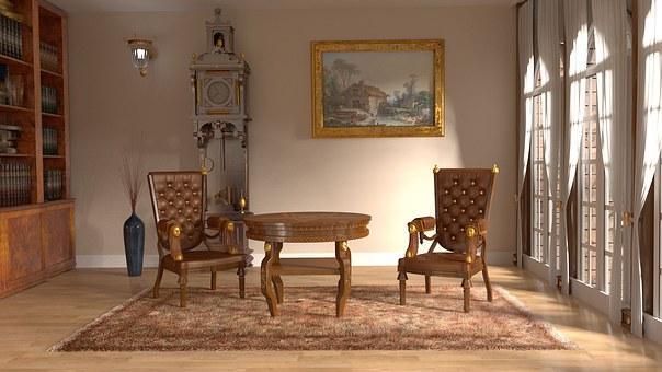 За хола и мебелите в него…