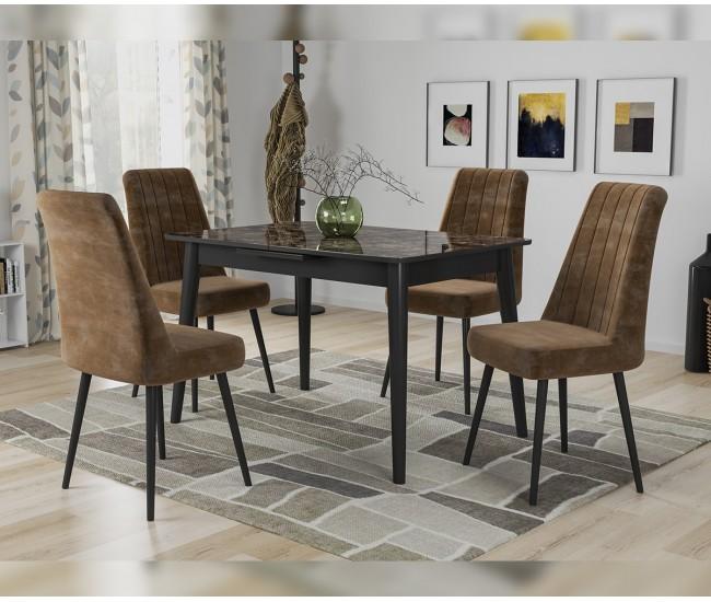 Защо масата и столовете е добре да се изберат в комплект
